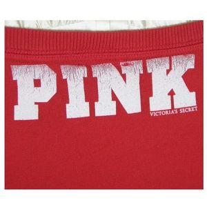 PINK Victoria's Secret Tops - VS Pink University of Nebraska Huskers Sweatshirt
